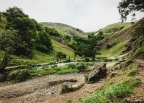 Ilam Park to Dovedale walk, Derbyshire