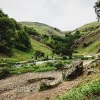 Ilam Park to Dovedale walk, Derbyshire
