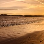 Beadnell Bay sunset walk