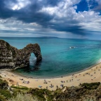 Lulworth Cove to Durdle Door walk